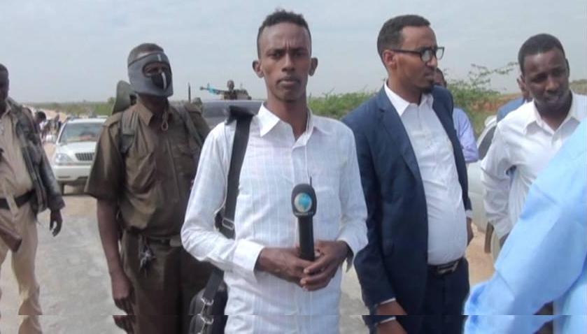 Abdulwali Ali Hassan, dit Online, journaliste somalien assassiné le dimanche 16 février 2020. Photo du compte Facebook du journaliste.