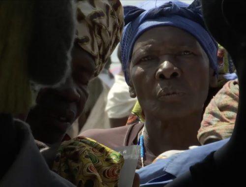 """Capture d'écran du documentaire """"Ouganda : le paradis des réfugiés"""", sur www.arte.tv."""